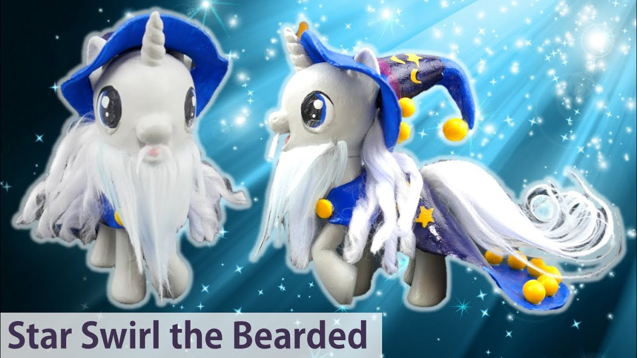 My Little Pony Custom Star Swirl the Bearded Wizard - MLP Season 7 Finale Shadow Play