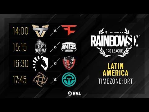 Rainbow Six Pro League - LATAM - Season X - Playday #5