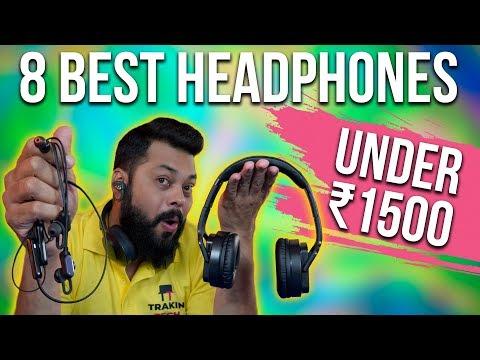 TOP 8 BEST BLUETOOTH EARPHONES & HEADPHONES UNDER ₹1500 ⚡⚡⚡(2019)