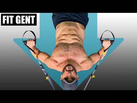 TRX Anchored Shoulder Press