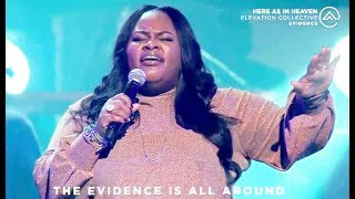 Gambar cover Here As In Heaven feat. Tasha Cobbs Leonard | Live from Ballantyne | Elevation Collective