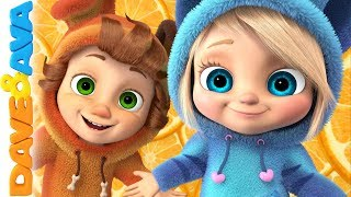 🍊Nursery Rhymes and Kids Songs | Dave and Ava 🍊