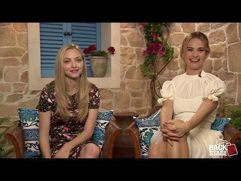 Amanda Seyfried Amp Lily James Sing Dancing Queen