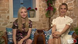 "Amanda Seyfried & Lily James Sing ""Dancing Queen"""