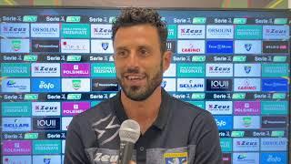 intervista a mister Grosso dopo Parma