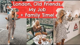 THE BEST THING ABOUT MY JOB! LONDON VLOG EM WEEKLY | Em Sheldon Vlogs