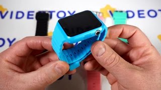 Детские подростковые умные часы телефон Smart Watch V7K с GPS с поиском (4 цвета) от компании Магазин Смарт-Тайм - видео