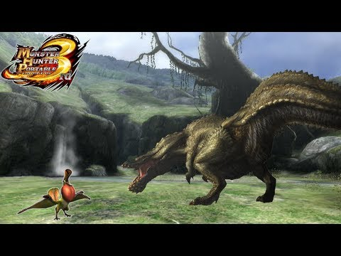 Monster Hunter Portable 3rd -- Online Download Quest: Mini Qurupeco & Giant Deviljho