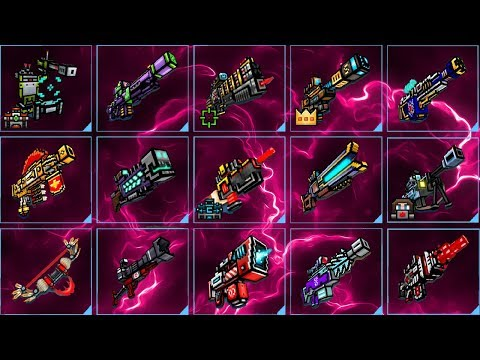 Pixel Gun 3D - Using All Mythical Sniper Weapons Challenge