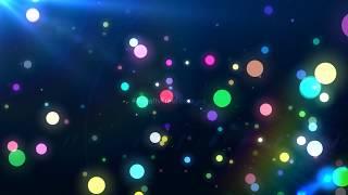 blue bokeh particles overlay, Sparkling bokeh particles | blue particles background video effects hd