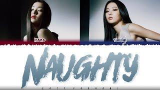 RED VELVET - 'NAUGHTY' Lyrics [Color Coded_Han_Rom_Eng]