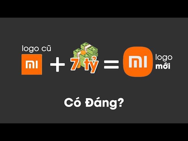 Logo Mới của Xiaomi giá 7 tỷ: Quá xứng đáng!