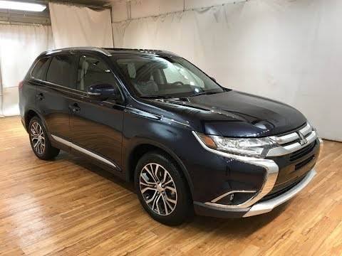 2018 Mitsubishi Outlander SEL LEATHER MOONROOF REAR CAMERA #Carvision