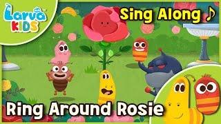 [Sing Along]  Ring Around Rosie - English - Larva KIDS  song