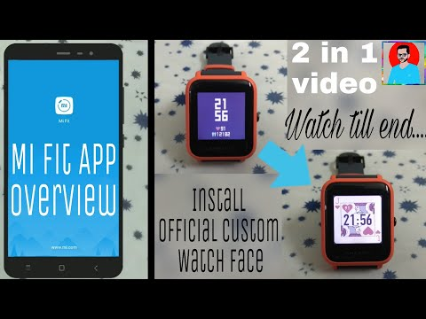 How to Install Amazfit Bip Custom Watch Face Using Mi Fit App