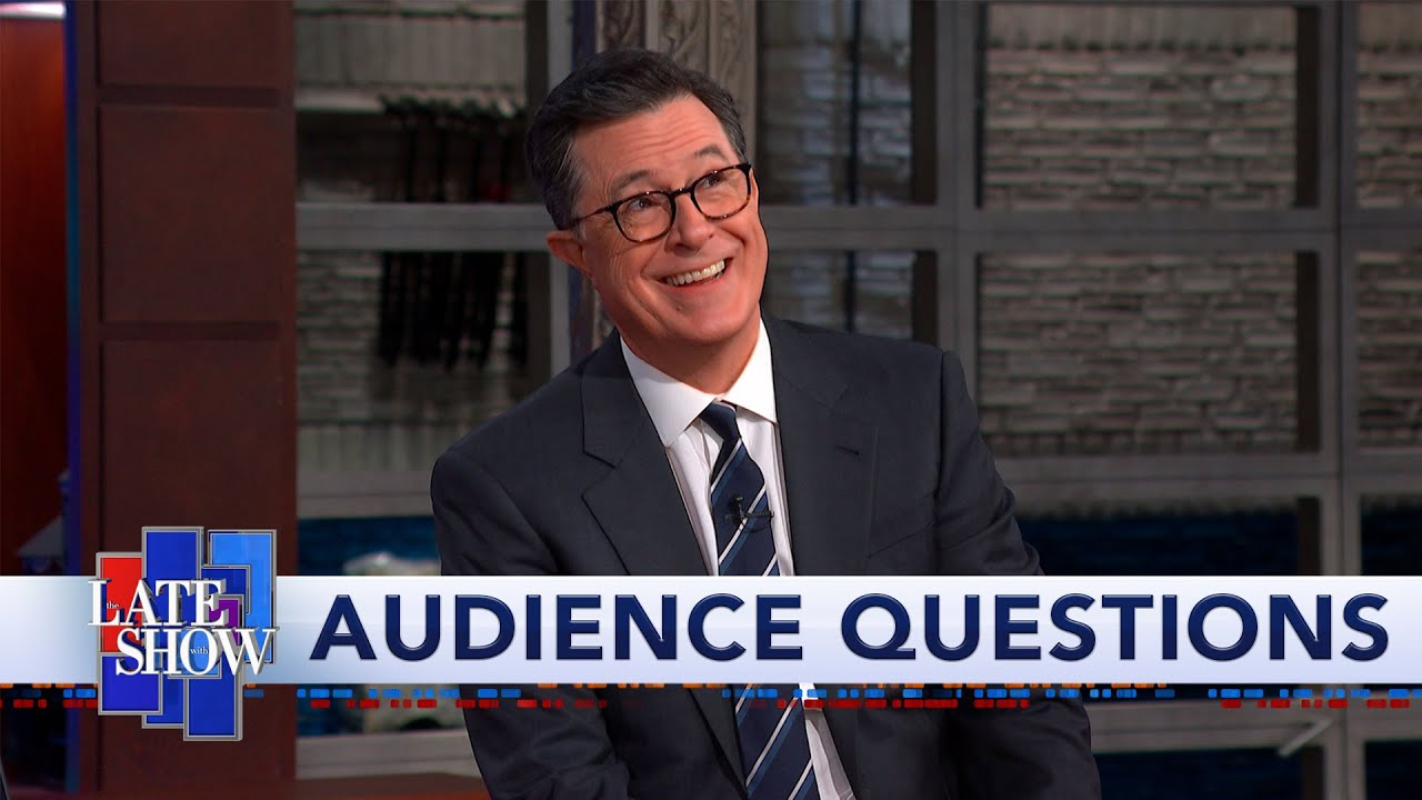Stephen Colbert's Audience Q&A: What I'll Do After Trump thumbnail