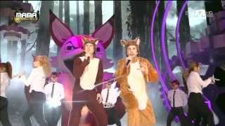 일비스(Ylvis)   The Fox At 2013 MAMA