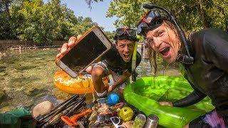 Underwater Treasure Hunting in Texas!