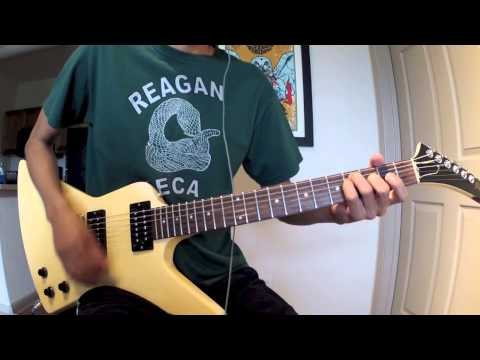 Foo Fighters - Alone + Easy Target (Guitar Play Along)