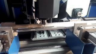Çelik Kapı Kilit Yeri Açma Cnc Router Makinesi
