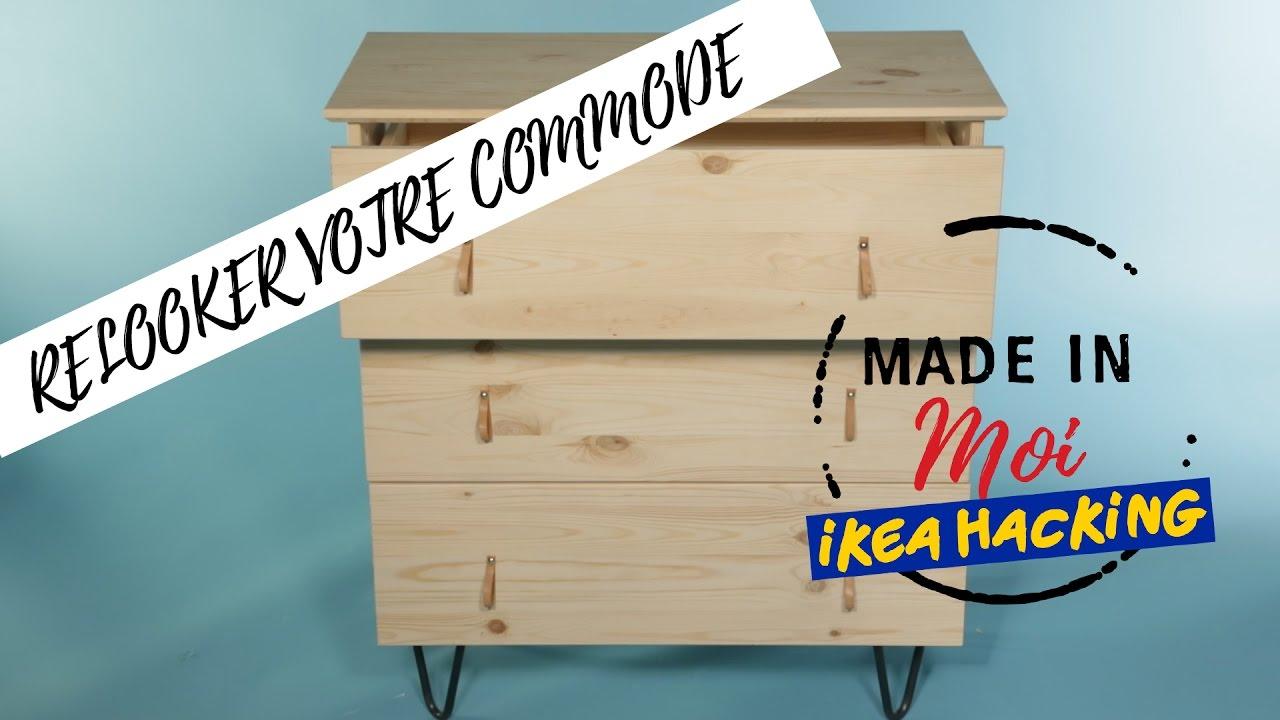 Video Diy Ikea Hacking Tuto Relooker Commode