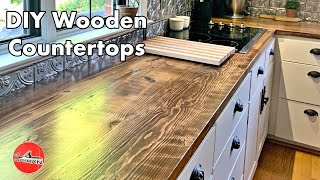DIY Wooden Counter Top