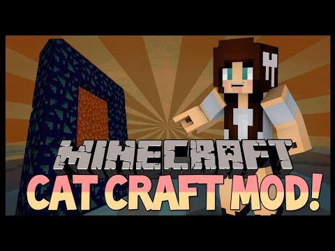 Minecraft Mod Showcase | Cat Craft 1.6.4 | New Dimensions, Armour, Tools, Mobs & more!