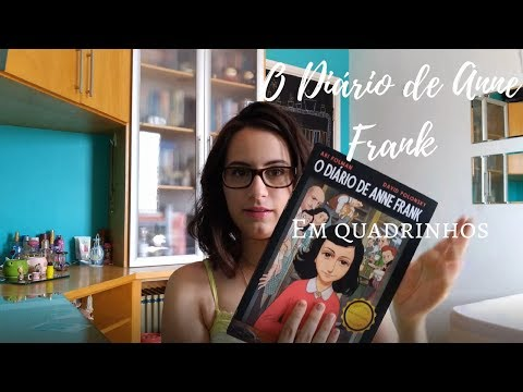 Resenha   DIÁRIO DE ANNE FRANK EM QUADRINHOS