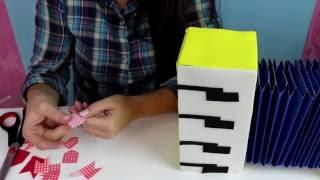 Este vídeo ensina passo a passo como fazer uma sanfona de papel e EVA para decoração ou para dançar quadrilha!  www.amofestas.com www.facebook.com/amofestas