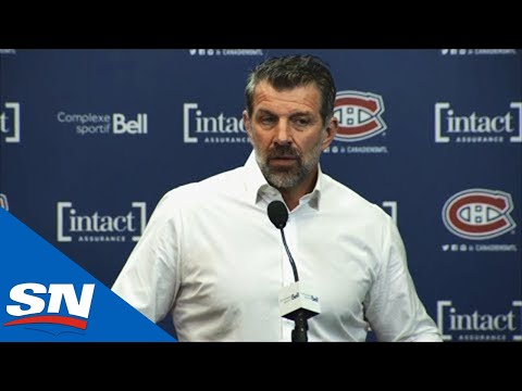 Marc Bergevin Talks About Montreal Canadiens' Offer Sheet To Sebastian Aho