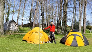 The North Face Ve25   - New Vs Old -  Which One Is The Best 4 Season Tent