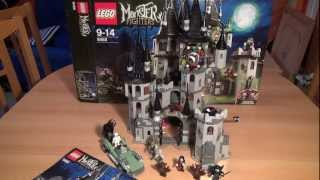 Test LEGO Vampirschloss (Set 9468 LEGO Monster Fighters)
