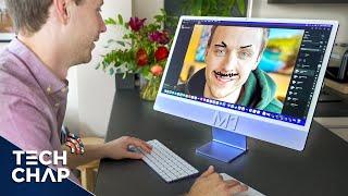Revisión de M1 iMac de 24 pulgadas: ¡mejor en todos los sentidos! (Disparo en iMac)