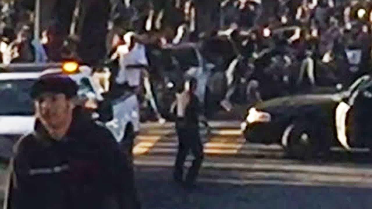 Cop Sends Skateboarder Flying (VIDEO) thumbnail