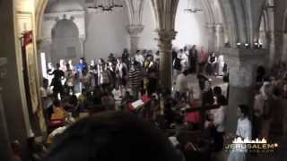 Video Tour to The Last Supper Room & Upper Room at Mount Zion Jerusalem (Cenacle)