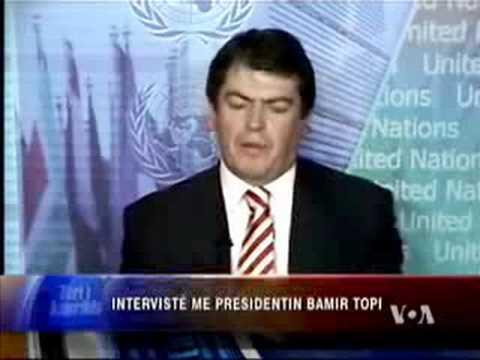 Interviste me Presidentin Bamir Topi