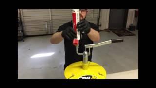 Lube Shuttle® Cartridge Filler For Five Gallon Pail