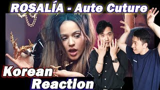 🔥(ENG)/ KOREAN Rappers / react to ROSALÍA - Aute Cuture💧💧