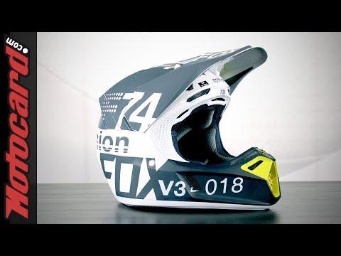 Fox V3 2018: análisis del casco para motocross en Motocard.com