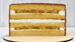 Карамельный ТОРТ ☆ Нежный, с ВКУСНЕЙШЕЙ начинкой ☆ Caramel CAKE