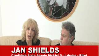 Up Close with Jason & candidate Jan Shields