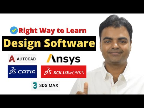 Best Way to Learn CAD/CAM Software   Learn Design Software Easily Mechanical, Electrical, Civil