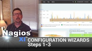 Using Configuration Wizards in Nagios XI (Steps 1-3)