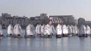 preview picture of video 'Regate Optimist du 29 novembre 2014 US Créteil Voile'