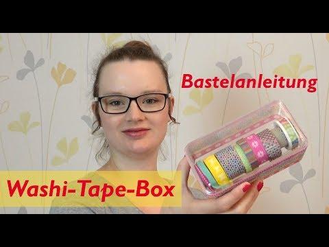 DIY Washi Tape Box mit Abtrenner