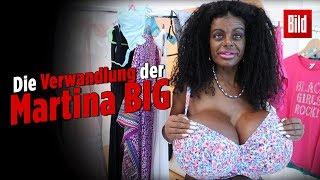 Martina Big Erklärt Ihre Krasse Verwandlung Mit Brust OP Und Melanin Spritze