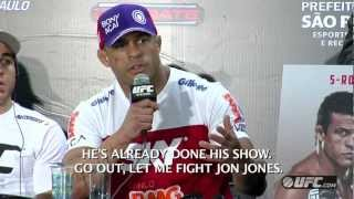 UFC On FX 7: Post Fight Press Conference Highlights