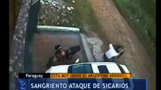 Sicarios atacaron a un argentino en Paraguay - Telefe Noticias