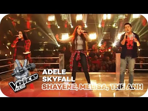 Adele - Skyfall (Shayene, Melisa, The Anh)   Battles   The Voice Kids 2016   SAT.1