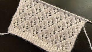 Lace Knitting Stitch Pattern For Cardigan